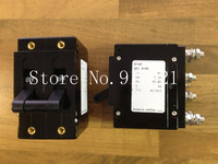 [ZOB] New American AIRPAX Ebers 21RE 2P25A 250V NO auxiliary equipment circuit breaker NC