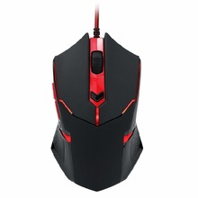 Durable Smooth Professional Adjustable 3200DPI 6 Buttons Mechanical Gaming Mouse Wired Games Cable Mouse Mice