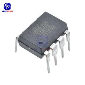 Image 2 - Puce IC diymore ATTINY85 20PU ATTINY85 MCU 8BIT atminuscule 20MHZ 8 broches DIP 8 ATTINY85 puces IC de microcontrôleur