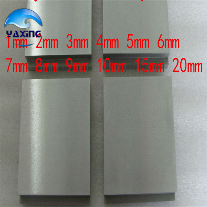 Tungsten sheet plate for Scientific research and experiment  High Purity tungsten sheet plate for scientific research and experiment high purity