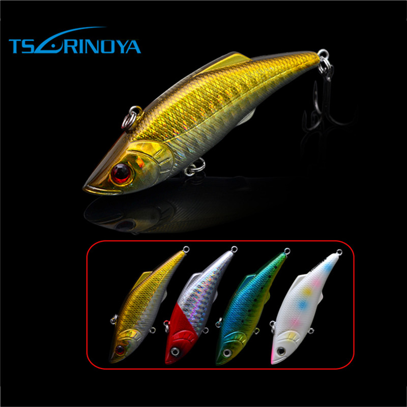 Trulinoya fishing lure hard bait Hard Lures Fishing VIB Lure swimbait Plastic Fishing Tackle for Outdoor 74mm 13g 4 colors/set trulinoya minnow fishing lures 80mm 8g hard bait carp fishing bass lure swimbait sea fishing isca artificial fly fishing tackle