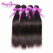 8A Grade Virgin Unprocessed Human Hair Brazilian Virgin Hair Straight 4 Bundle Deals Ms Lula Hair Tissage Bresilienne Lots 4
