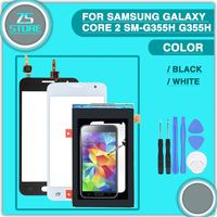 For Samsung Galaxy Core 2 SM G355H G355H G355 Duos Touch Screen Digitizer Sensor Glass LCD
