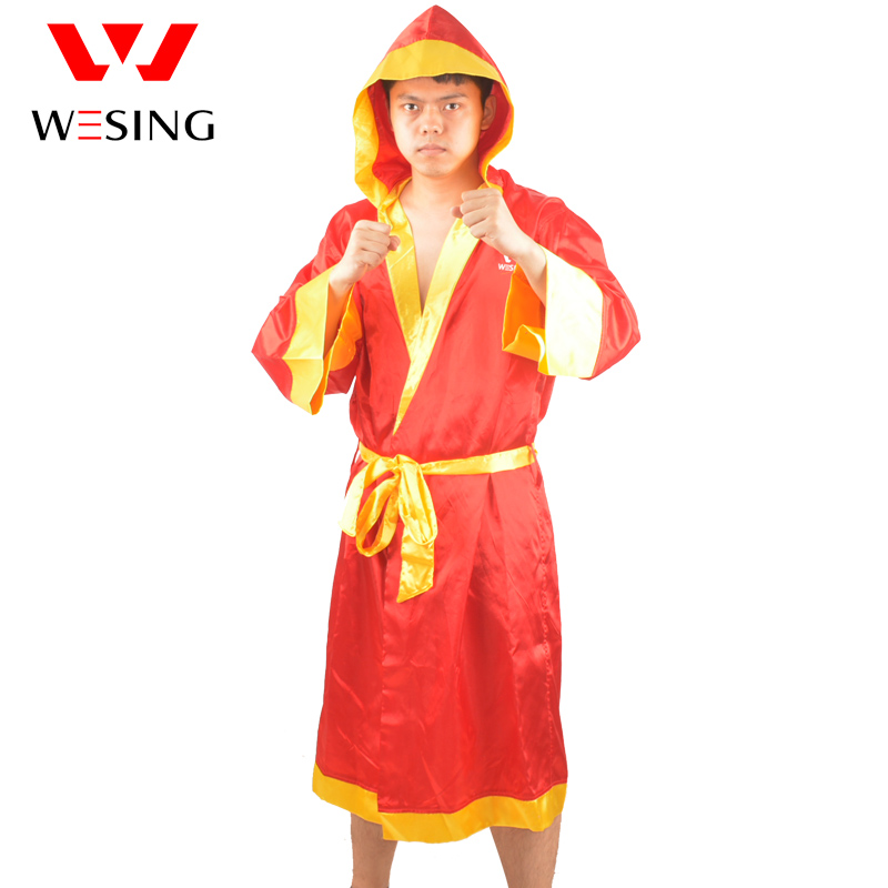 wesing men's boxing robe soft boxing cloak kick women boxing dry robe clothing boxing uniforms Bata Boxeo туфли bata bata ba060awhsd05