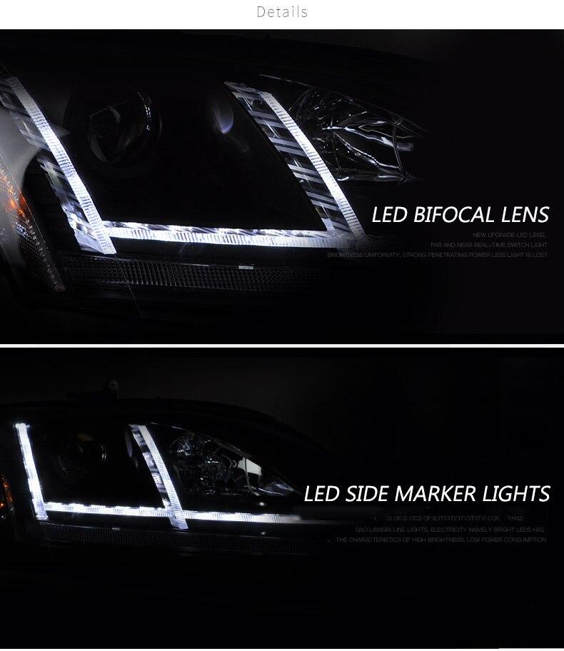 Audi TT 2006-2014 PHARE SET KIT 2x H7 AMPOULES 6500K Blanc Pur 501