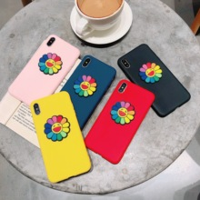 цена на Cartoon cute 3D Case on For iphone 7 XS MAX Case Soft Silica gel Back Cover For iphone6 6S 8Plus iphone XR Case Cover Phone case