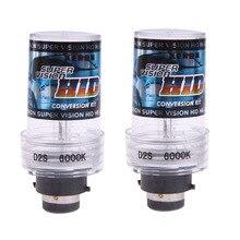 2X35 W 6000K D2S/D2C ксеноновая Автомобильная замена HID Белый головной светильник лампа лампы