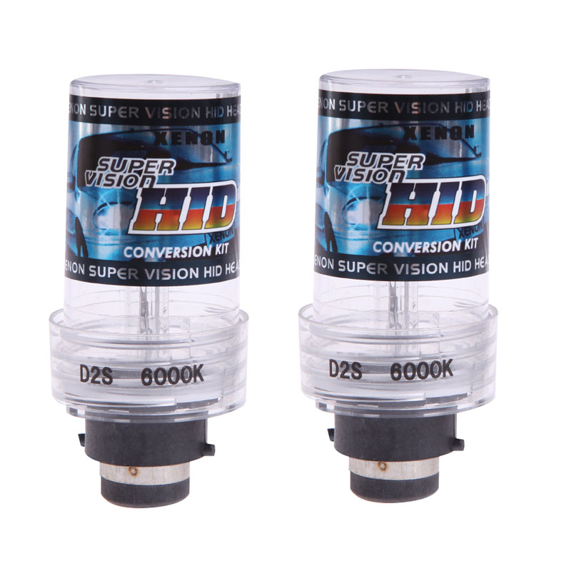 2X 35W 6000K D2S/D2C Xenon Car Replacement HID White Headlight Light Lamp Bulbs