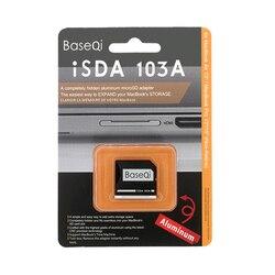 BaseQi NinjaDrive Micro SD/carta di TF Adattatore di espansione di Memoria lettore di schede SD per MacBook Air 13