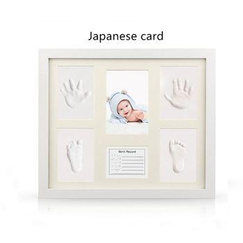 Kit De Yeso Para Bebes.Kit De Toallitas Sin Tinta Para Bebe Estampado A Mano Recuerdo Huella De Recien Nacido Estampado