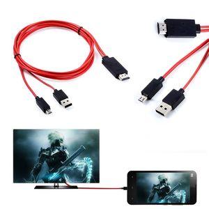 Image 4 - ミニ 1080 1080p mhlマイクロusb hdmiケーブル変換アダプタandroidの電話/pc/tvオーディオアダプタhdtvアダプタ