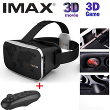 VR BOX 4.0 Virtual Reality 3D Glasses Google Cardboard Oculus Drift + Smart Bluetooth Wireless Mouse / Remote Control Gamepad