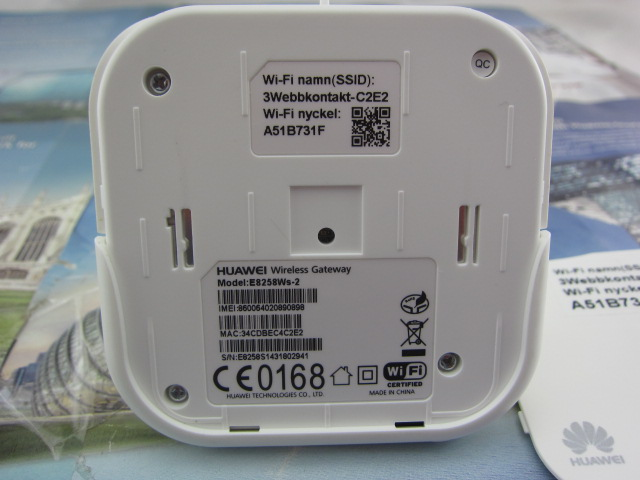 HUAWEI E8258 E8258Ws-2 Utra Wireless ROUTER