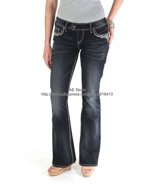 Aliexpress.com : Buy Silver jeans for women's 2106 new autumn ...