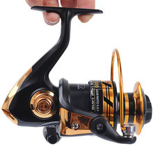 HOT SALE! Spinning reel fishing reel 2000/3000/4000/5000 5.5:1 spinning reel casting fishing reel lure tackle line K8356
