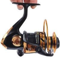 HOT SALE Free Shipping Spinning Reel Fishing Reel 2000 3000 4000 5000 5 5 1 Spinning