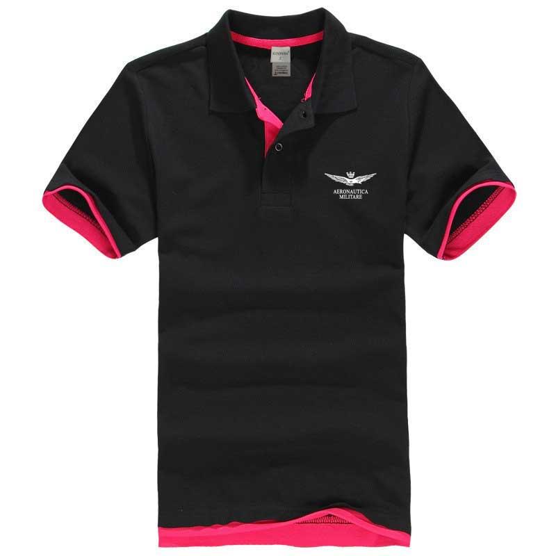 Aliexpress.com : Buy XS 3XL Summer Solid Polo Shirts Men Short ...