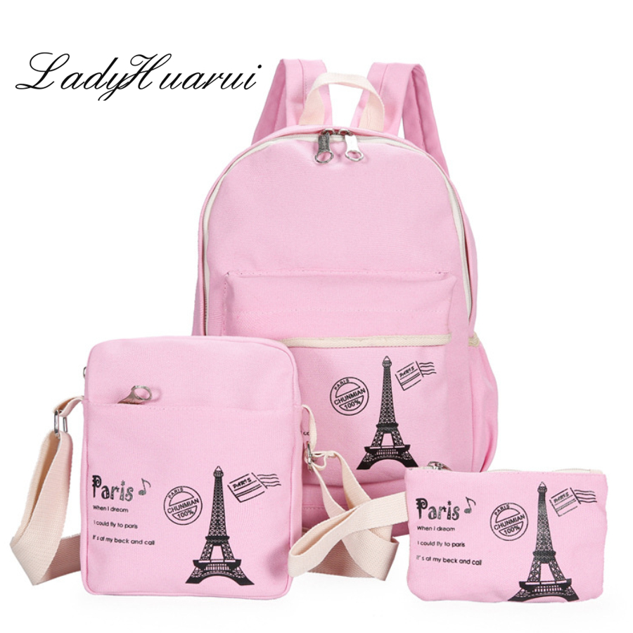 2018 New Women High Capacity Backpack With  School Bags For Teenagers Girls Backpacks Dots Printing Bookbag Cute Back Pack Q3 dizhige brand women backpack high quality pu leather school bags for teenagers girls backpacks women 2018 new female back pack