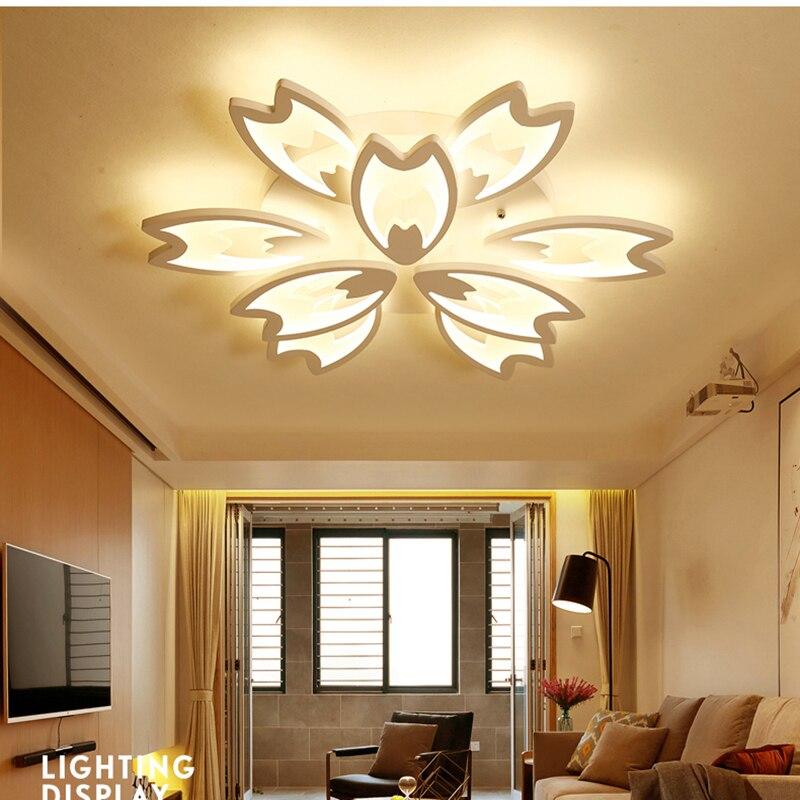 Neue Designer Moderne Led Deckenleuchten Für Wohnzimmer Arbeitszimmer  Schlafzimmer Lampe Plafond Avize AC85 265V Innendeckenleuchte Leuchten