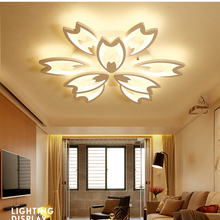 New Designer Modern Led Ceiling Lights For Living Study Room Bedroom lampe plafond avize AC85-265V Indoor Ceiling Lamp Fixtures veihao new modern led ceiling lamp for living room bedroom study indoor acrylic square round art ceiling lamp lighting ac85 260v