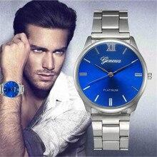 men's watch Saat Relogio masculino Fashion Women Crystal Stainless Steel Analog Quartz Wrist Watch Bracelet women XL50