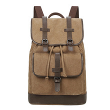 XIFAN  Casual Large Capacity Shoulder Bags Vintage Unisex Canvas Backpack Preppy Style School Student Mochila Laptop Bag