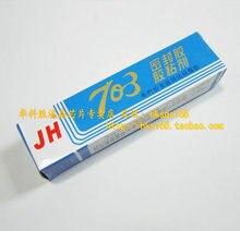 Adesivo selante de borracha de silicone do Transporte livre construído leite branco 703 de isolamento de silicone