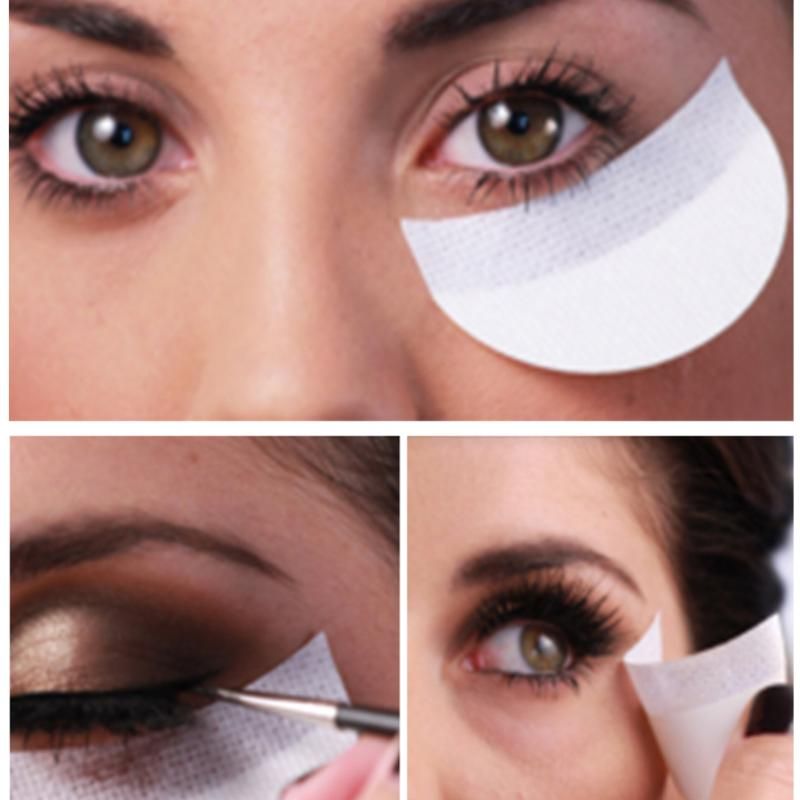 20/50/100Pcs Makeup Eye Shadow Stickers Eyeshadow Eyelash Extention Grafting Under Eye Isolation Tape Stickers Cosmetic Tool