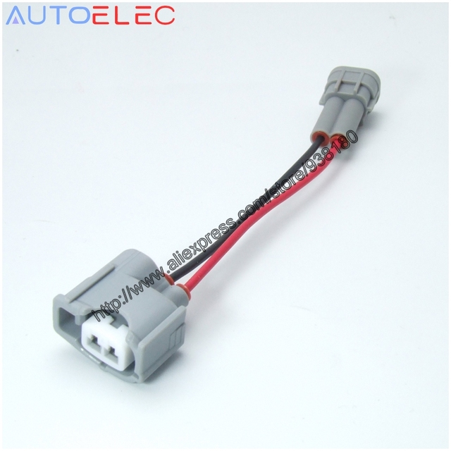 1pc 2pin fuel injector connector adaptor wiring harness 1jz 1jzgte denso wiring harness  denso alternator wiring harness 1pc 2pin fuel injector connector adaptor wiring harness 1jz 1jzgte high flow fuel rail complete