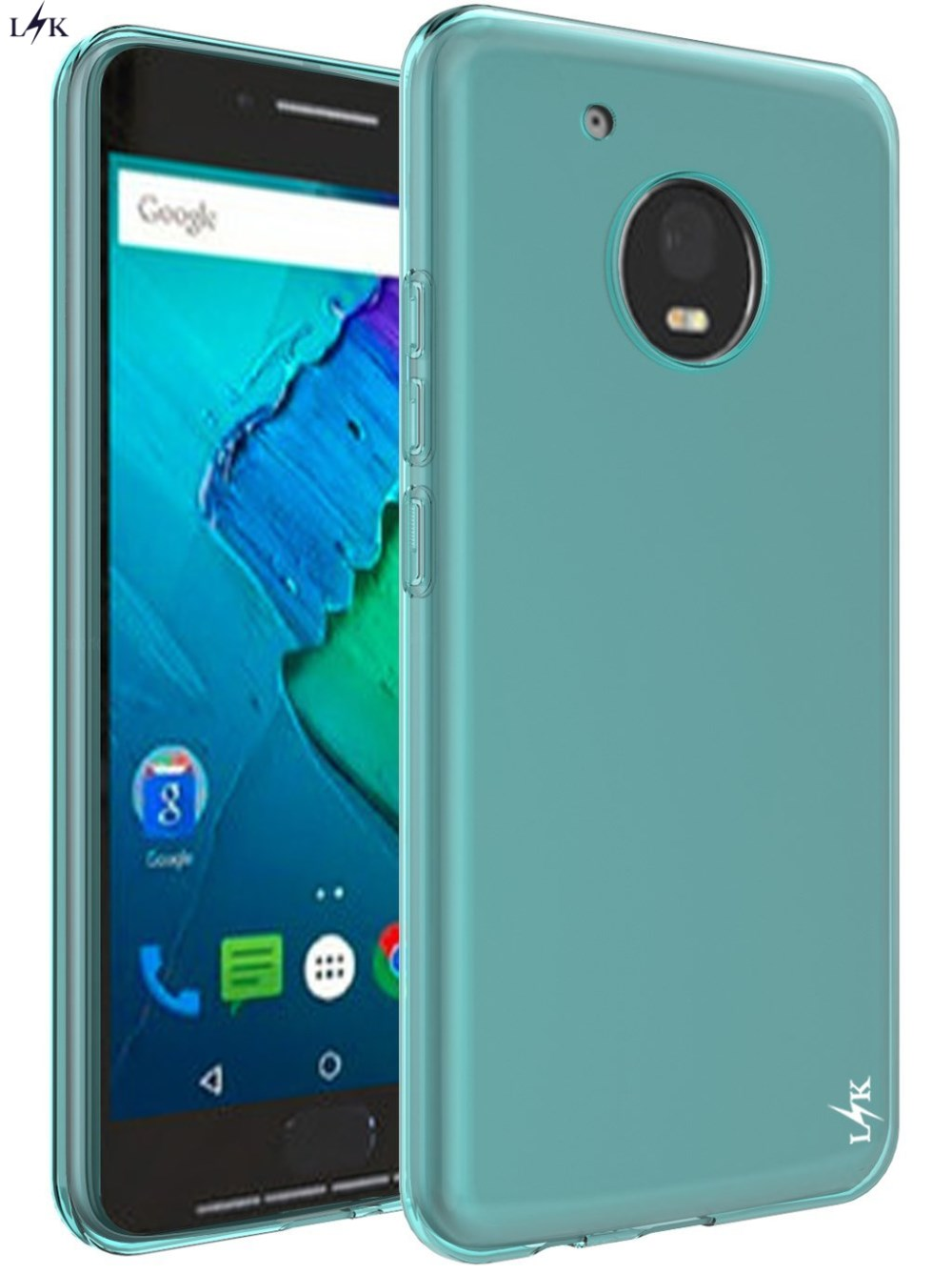 moto g5 plus case. for moto g5 plus case, lk ultra [slim thin] scratch resistant tpu rubber soft skin silicone protective motorola plus-in fitted cases from case