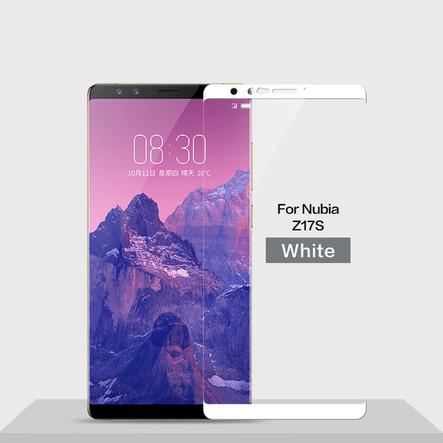 Image 5 - 3D Tempered Glass For ZTE Nubia Z17S Full Cover 9H Protective film Explosion proof Screen Protector For Nubia Z17S Nx595j-in Phone Screen Protectors from Cellphones & Telecommunications