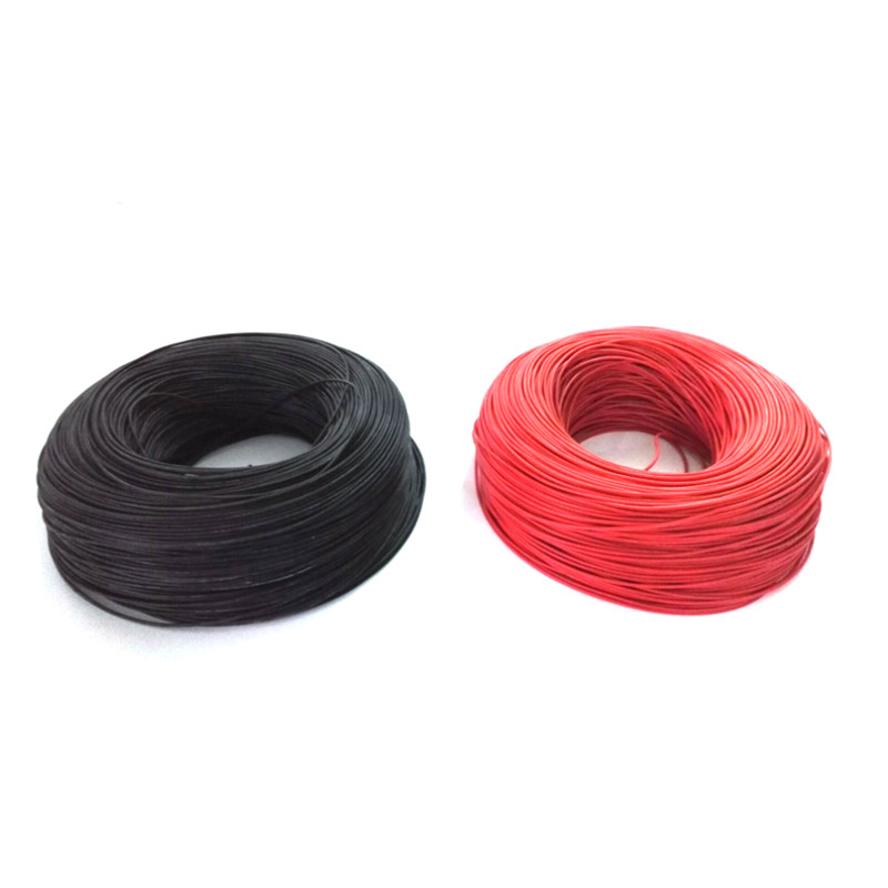 <font><b>100m</b></font> Silicon Wire <font><b>24AWG</b></font> Heatproof 200 degree Soft Silicone Silica Gel Wire Cable For RC Model Battery Part in Red Black image