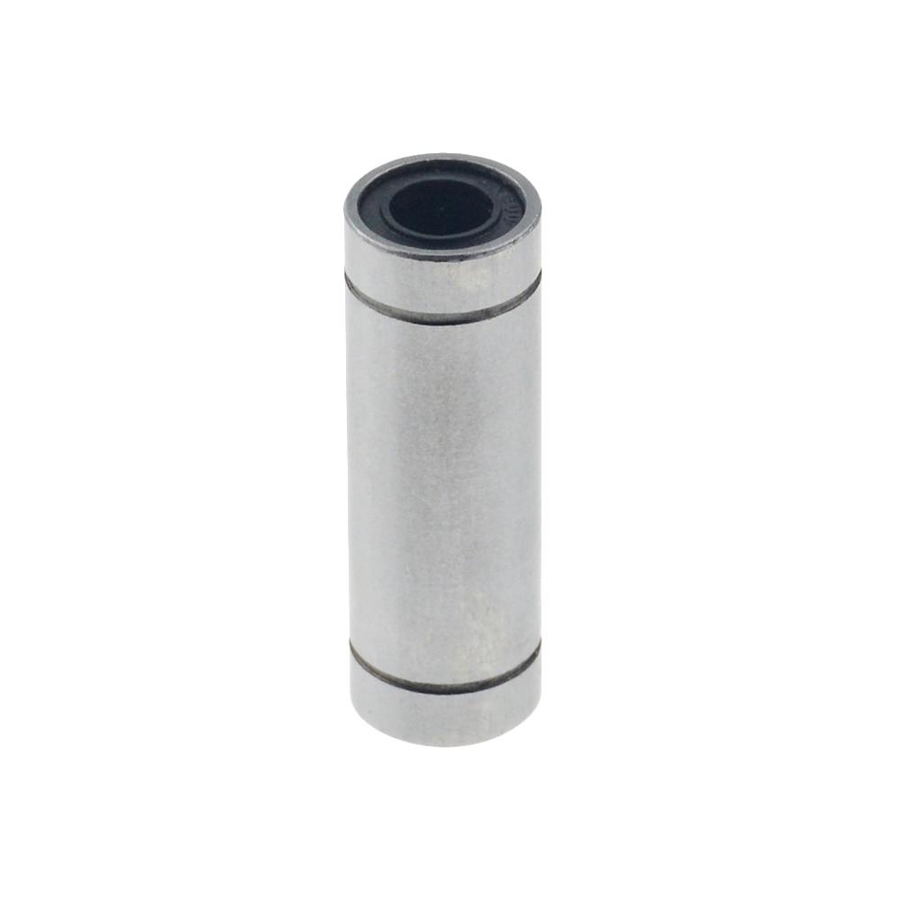 10pcs/lot Free Shipping LM10LUU Long Type 10mm Linear Ball Bearing CNC Parts For 3D Printer