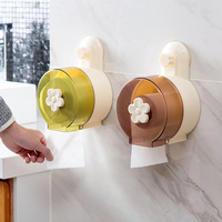 Punch Proof Waterproof Roll Paper Tube Creative Toilet Tissue Box Toilet Toilet Paper Roll Holder Toilet