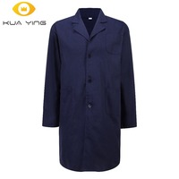 Unisex Men Women Classic Style Long Sleeve Lab Coat Medical Clothing Hospital Doctor Nursing Dental Scrubs