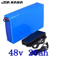 48 v 20ah pil paketi 48 v lityum iyon batarya 48V 20Ah ebike pil 48 volt lityum pil için 48V 1000W 1500W 2000W motor