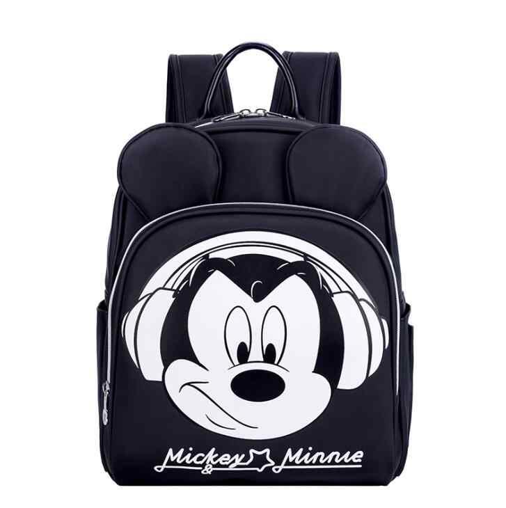 Рюкзак disney Mickey Mummy, большая Вместительная дорожная сумка для беременных, многофункциональная дизайнерская сумка для ухода за ребенком