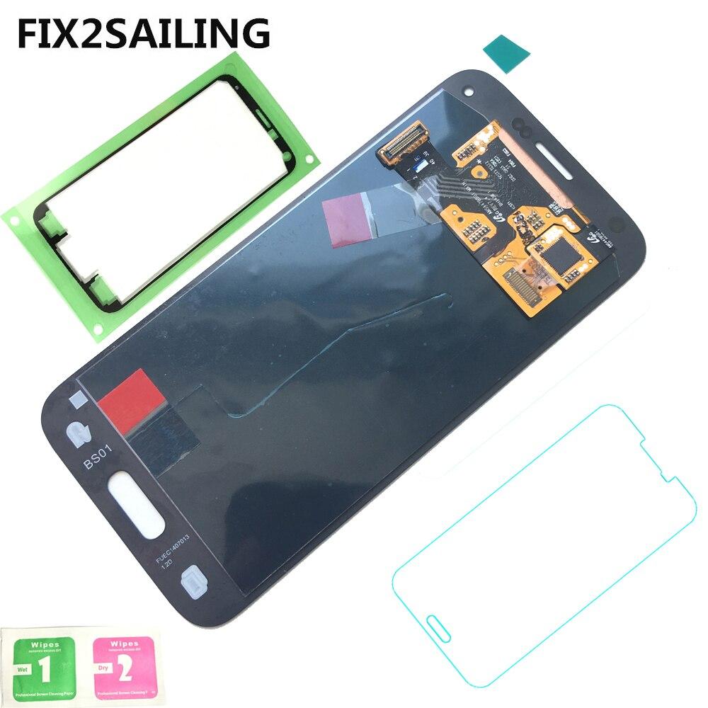 Affichage 100% Testé Travail Super AMOLED LCD Assemblée D'écran Tactile Digitizer Pour Samsung Galaxy S5 Mini G800 G800F G800H