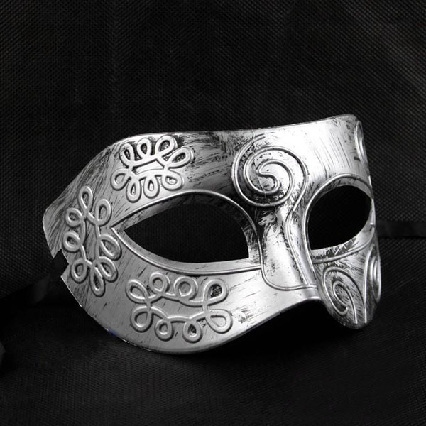 Men Greek Roman Fighter Mask
