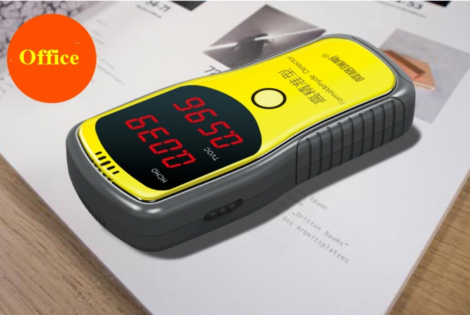 Toluene TVOC detector Formaldehyde testing instruments Determination formaldehyde indoor air quality Protection pregnant women free shipping portable formaldehyde indoor air pollutants tvoc detector from ohmeka