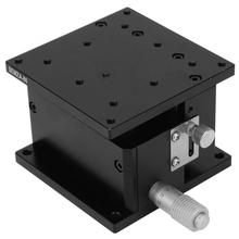 цена на 80*80*50mm linear rail SEMZA-80 Trimming Platform Slide Table Fine Tuning Bearing Vertical Linear Stage geleiderail