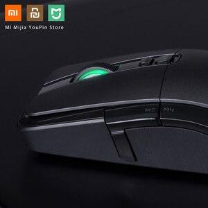 Image 4 - Oryginalna mysz bezprzewodowa Xiaomi USB 2.4GHz 7200DPI RGB podświetlenie mysz optyczna do komputera
