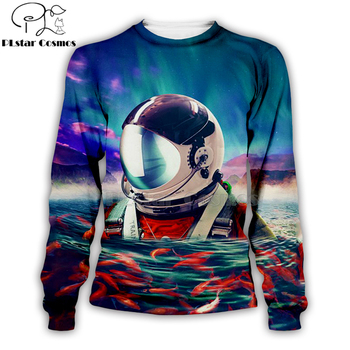 armstrong space suite 3d Hoodies/Sweatshirt/vest/Zipper Unisex Women Casual Cute coseplay astronaut spacesuit -17 1