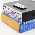 TeLi YT-K03 Привет-fi Стерео Усилитель Поддержка SD/USB/FM/Микрофон с Дистанционным управлением Метр индикатор