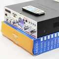 TeLi YT-K03 Hi-Fi Stereo Amplifier Support SD/USB/FM/Microphone with Remote control Meter indicator