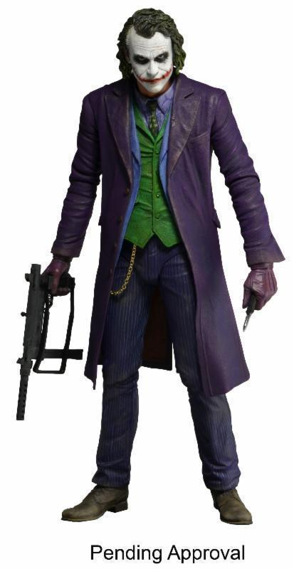 """Image 3 - 18cm THE JOKER HEATH LEDGER DC COMICS Action Figure Model 7"""" Male Mini Figure-in Action & Toy Figures from Toys & Hobbies"""