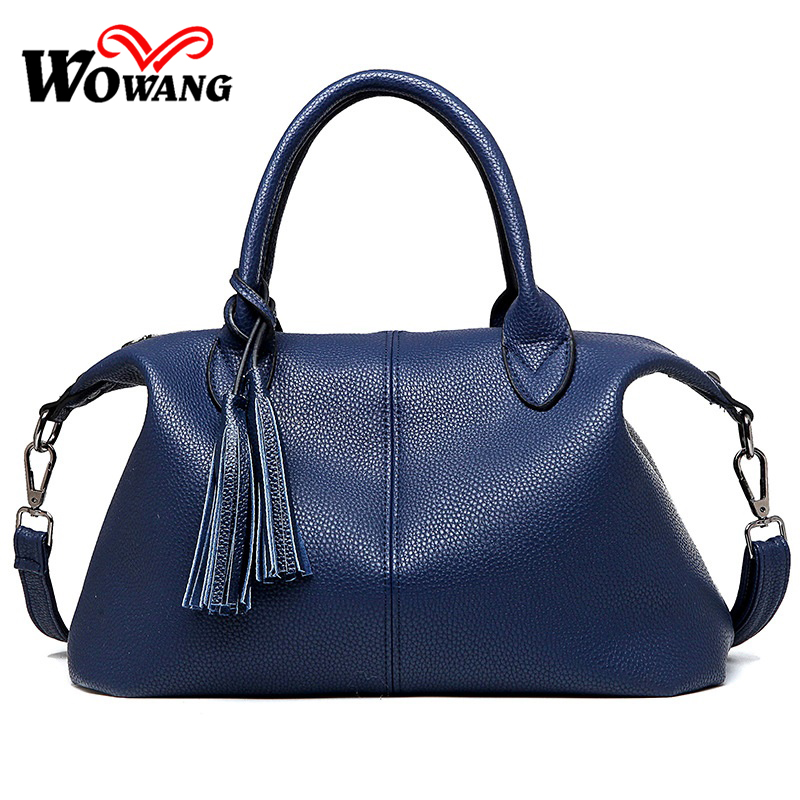 2016 Women Leather Handbags Ladies Brand Shoulder Crossbody Bag Luxury handbags women Messenger bags Designer Tote Clutch Bolsas giaevvi luxury handbags split leather tote women messenger bags 2017 brand design chain women shoulder bag crossbody for girls