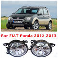 Para FIAT Panda 2012 - 2013 luzes de nevoeiro LED Car Styling 10 W amarelo branco 2016 novas luzes