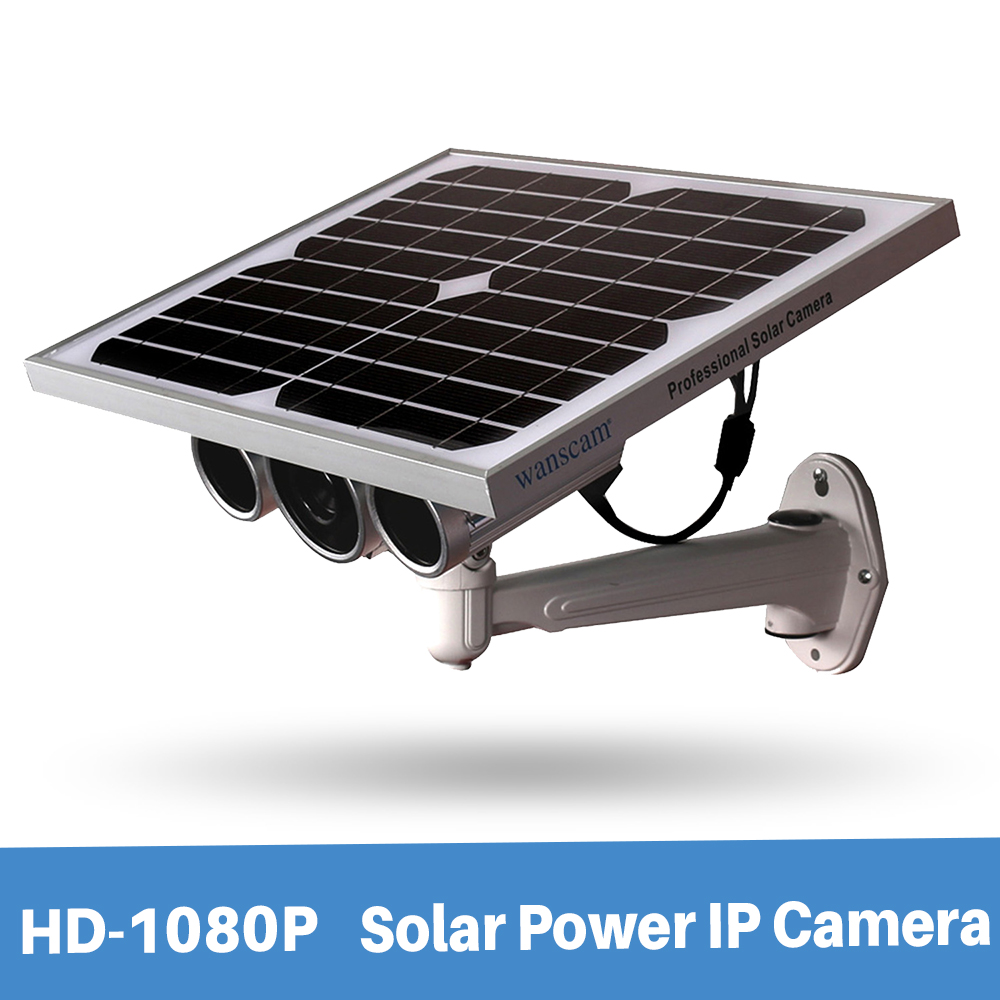 Wanscam HW0029 5 Outdoor Waterproof 1080P Security Wifi Solar Power IP Camera With Starlight Night Vision