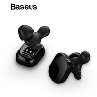 Baseus W02 TWS Bluetooth Earphone Wireless earbuds with microphone intelligent touch control hands free Auriculares for phone
